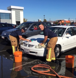 Hastings Fire Fighters Fundraising